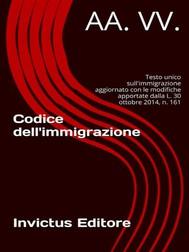 Codice immigrazione - copertina