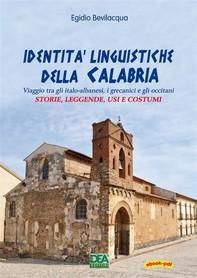 Identità linguistiche della Calabria - Librerie.coop