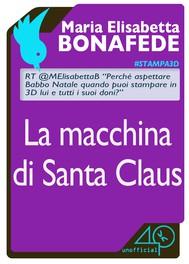 La macchina di Santa Claus - copertina
