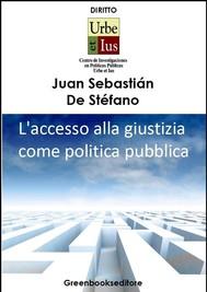 Accesso alla giustizia come politica pubblica - copertina