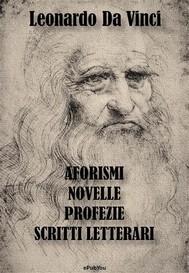 Aforismi, Novelle, Profezie e Scritti Letterari - copertina