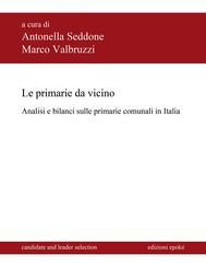 Le primarie da vicino. Analisi e bilanci sulle primarie comunali in Italia - copertina