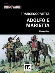 Adolfo e Marietta - copertina