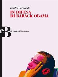 In difesa di Barack Obama - copertina
