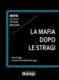 La mafia dopo le stragi - copertina