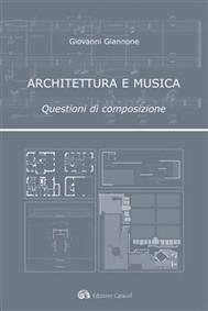 Architettura e musica - copertina