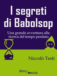 I segreti di Babolsop - copertina