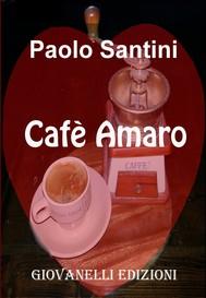 Cafè amaro - copertina
