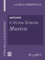 Antichità - Il Vicino Oriente - Musica - copertina