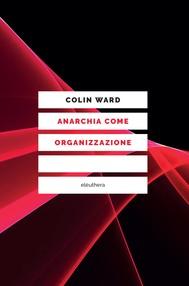 Anarchia come organizzazione - copertina