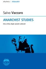Anarchist studies - copertina