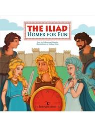 The Iliad – Homer for Fun - copertina