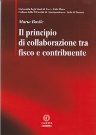 Il principio di collaborazione tra fisco e contribuente - Librerie.coop