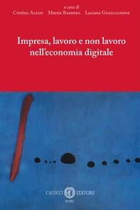 Impresa, lavoro e non lavoro nell'economia digitale - Librerie.coop