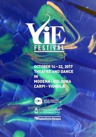 VIE Festival 14 - 22 october 2017 - copertina