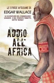 Addio all'Africa - copertina