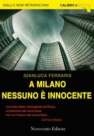A Milano nessuno è innocente - copertina