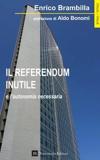 Il referendum inutile - Librerie.coop
