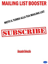 Mailing List Booster - Librerie.coop