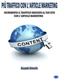 Più Traffico con L'Article Marketing - Librerie.coop
