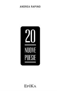 20 nuove poesie - copertina