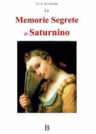 Le memorie segrete di Saturnino - copertina