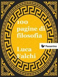 100 pagine di filosofia  - copertina