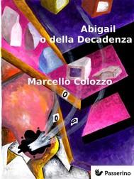 Abigail o della Decadenza - copertina