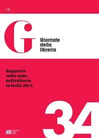 Rapporto sullo stato dell'editoria in Italia 2013 - Librerie.coop