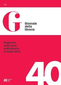 Rapporto sullo stato dell'editoria in Italia 2016 - Librerie.coop