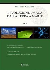 L'evoluzione umana dalla Terra a Marte - copertina