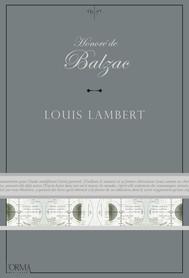 Louis Lambert - copertina