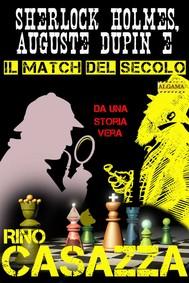 Sherlock Holmes, Auguste Dupin e il match del secolo - copertina