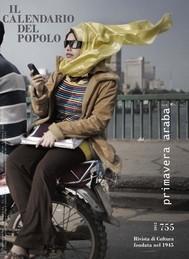 """Il Calendario del Popolo n.755 """"Primavera Araba"""" - copertina"""