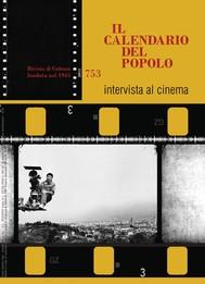 """Il Calendario del Popolo n.753 """"Intervista al cinema"""" - copertina"""