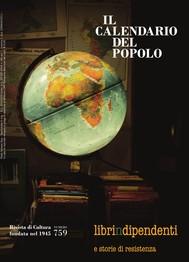 """Il Calendario del Popolo n.759 """"Libri indipendenti"""" - copertina"""