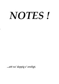 Notes ! - Librerie.coop
