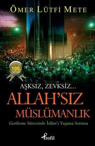 Allah'sız Müslümanlık - copertina