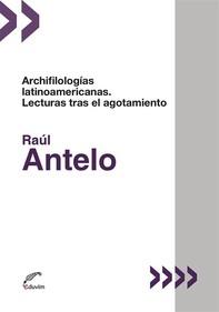Archifilologías latinoamericanas - Librerie.coop