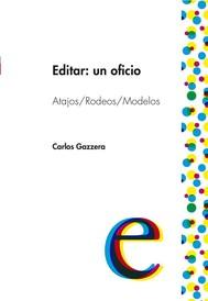 Editar: un oficio  - copertina