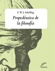 Propedéutica de la filosofía - copertina