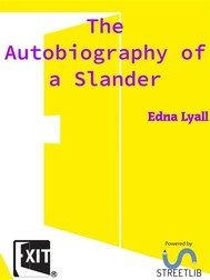 The Autobiography of a Slander  - copertina