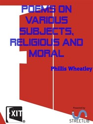 Poems on various subjects, religious and moral  - copertina