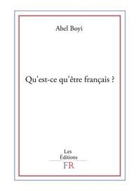 Qu'est-ce qu'être français ? - Librerie.coop