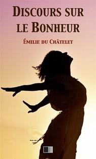 Discours sur le Bonheur - copertina