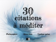 30 citations à méditer - copertina