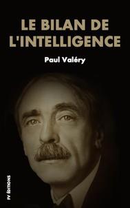 Le bilan de l'intelligence - copertina