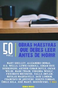 50 Obras maestras que debes leer antes de morir - Librerie.coop