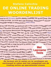 De online trading Woordenlijst - Librerie.coop