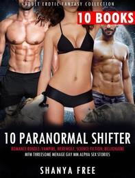 10 Paranormal Shifter Erotica Romance Bundle:  - Librerie.coop